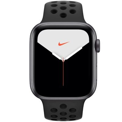 Apple Watch Series 5 Nike+ 44 mm Alu space grau für 379€ (statt 456€)