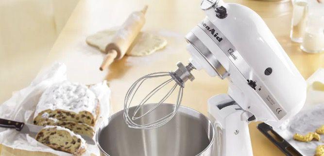 KitchenAid 5K45SSEWH Classic Küchenmaschine für 299€ (statt 349€)