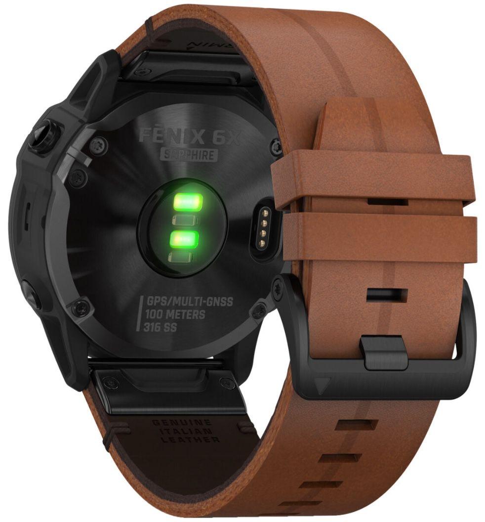 Garmin fenix 6X Sapphire GPS Multifunktionsuhr für 549,99€ (statt 759€)