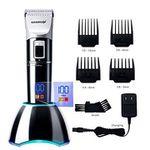 DEERCON Haarschneidemaschine mit Display und Lithium-Akku für 19,99€ (statt 32€)