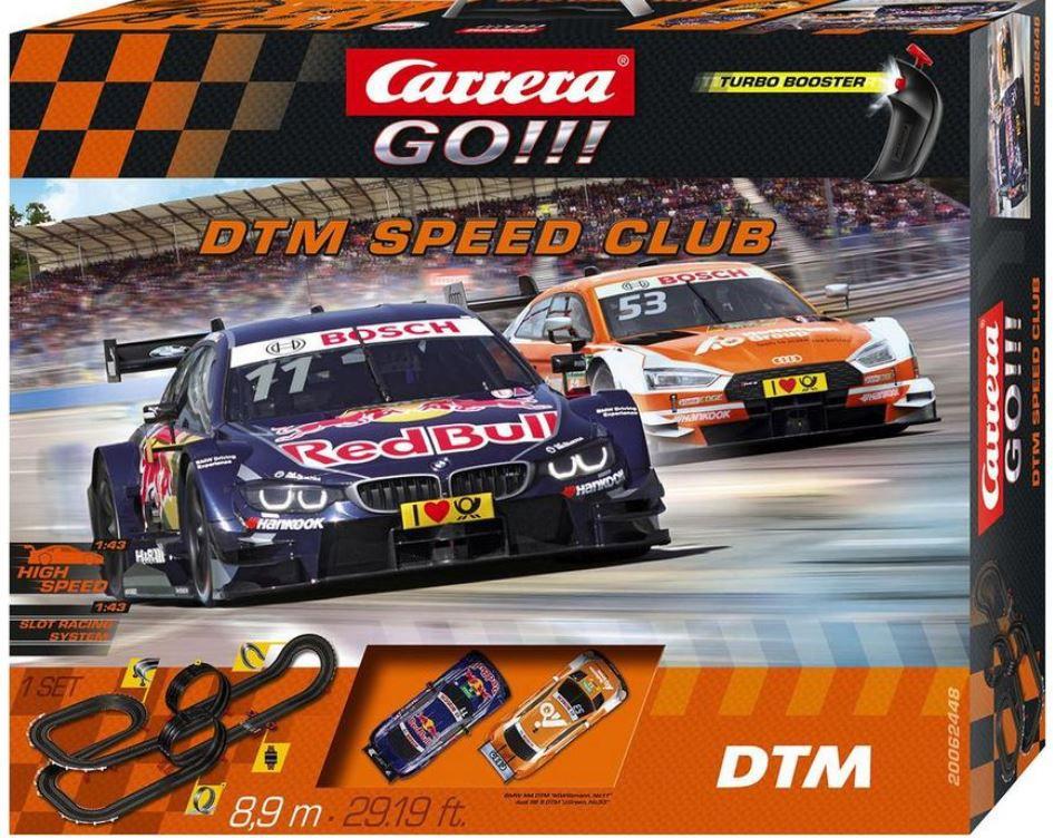 Ausverkauft! Carrera GO!!! DTM Speed Club 8,90m Autorennbahn mit Loopings für 38,50€ (statt 87€)