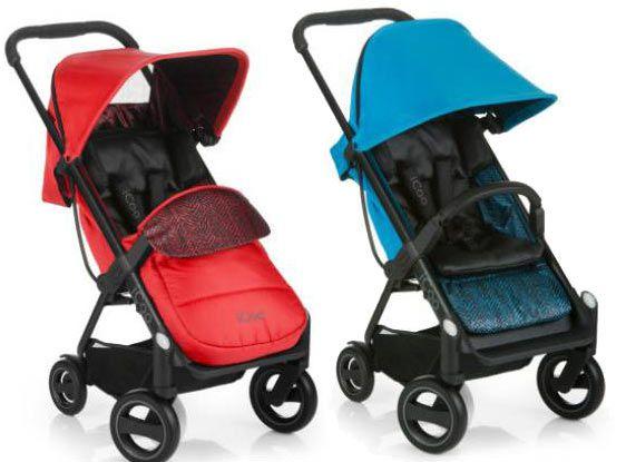 Icoo Buggy Acrobat ShopnDrive Fishbone   Kinderbuggy mit Babyschale für 214,99€ (statt 270€)