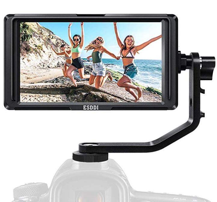 ESDDI F5   5 Zoll FullHD IPS ext. Kamera Monitor für 99,19€ (statt 160€)