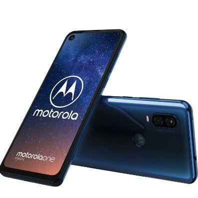 Motorola Moto One Vision Smartphone 6,3 mit 128GB für 229,44€ (statt 275€)