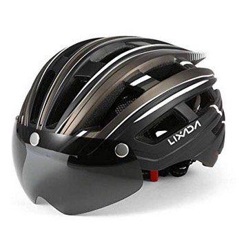 Lixada Fahrrad Helm mit abnehmbarem Magnetvisier mit UV Schutz für 16,49€ (statt 33€)   Prime
