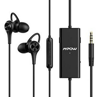 Mpow Noise Cancelling In Ear Kopfhörer Kabelgebunden mit Mikrofon für 14,99€ (statt 28€)