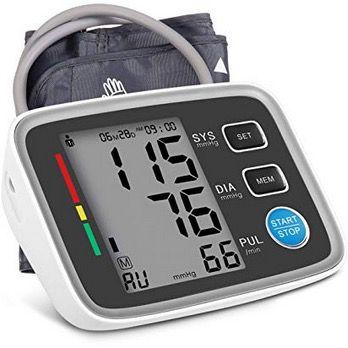 Hizek Blutdruckmessgerät für den Oberarm mit großem Display für 16,50€ (statt 24€)