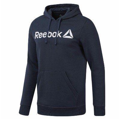 Reebok Sport Graphic Series Trainings Hoodie Men in Blau für 32,95€ (statt 40€)