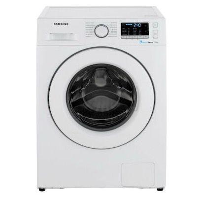 Samsung WW70J5585MW/EG Waschmaschine Frontlader ( 7kg, Aquastop, A+++) für 299,70€ (statt 388€)