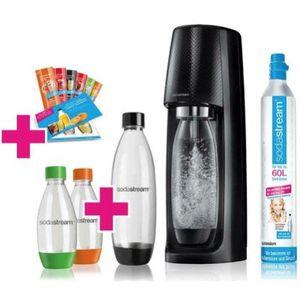 🔥SodaStream Easy in Schwarz inkl. 4x PET Flasche + CO2 Zylinder ab 44,98€ (statt 60€)