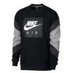 Nike Herren Sweatshirt Air Fleece Crew in 3 Farben je 42,24€ (statt 59€)