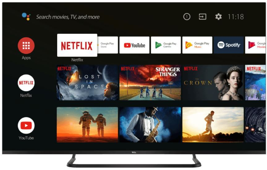 TCL 55EP680   55 Zoll UHD smart Android TV ab 466,38€ (statt 600€)