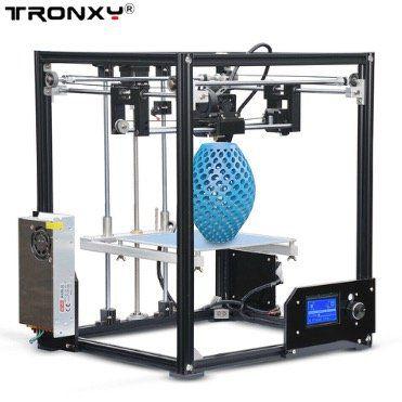 Tronxy X5 DIY 3D Drucker für große Druckgrößen von bis zu  210x210x280mm für 152,99€   Versand aus DE