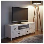 """TV Möbel """"Lewis Vintage"""" in Weiß für 70,30€ (statt vorher 105€ )"""
