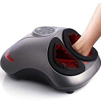 INTEY elektrisches Fußmassagegerät Shiatsu mit Wärmefunktion und 5 Intensitätsstufen für 62,99€ (statt 97€)