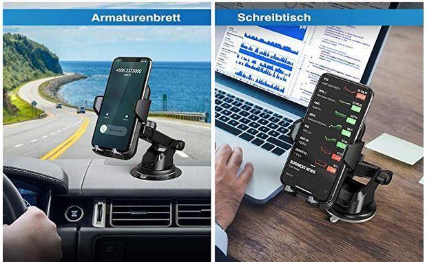 VANMASS Auto Handyhalterung für 16,67€ (statt 22€)   Prime