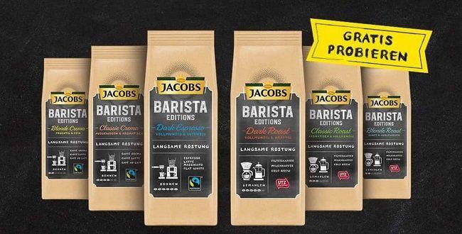 Jacobs Barista gratis probieren