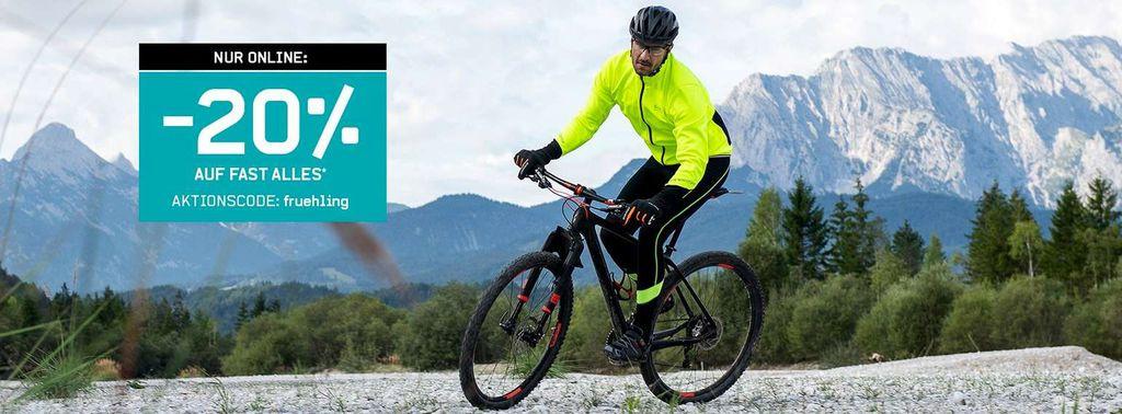Karstadt Sports mit 20% Rabatt auf alles (günstige Inliner & Co.)