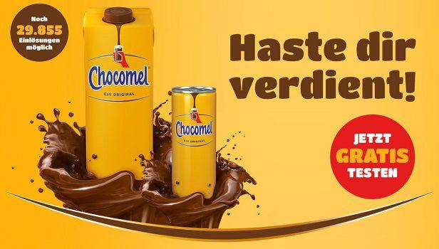 Schokomilch von Chocomel gratis ausprobieren