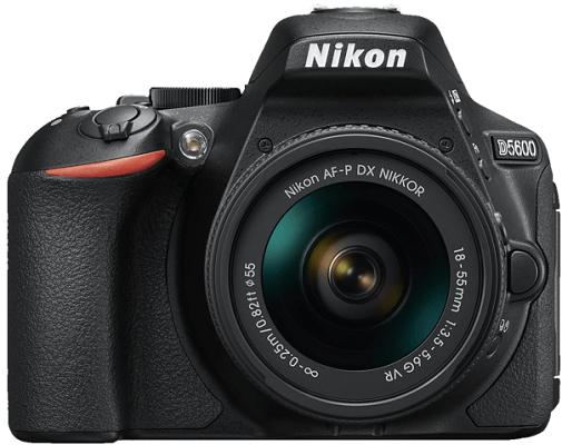 Nikon D5600 Kit   DSLR Kamera mit 18 55 mm Objektiv für 444€ (statt 517€)