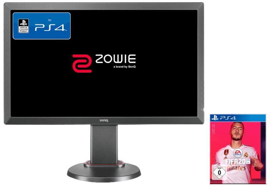 TOP! BENQ ZOWIE 24 Zoll Full HD Monitor + FIFA 20 (PS4) für 169€ (statt 237€)