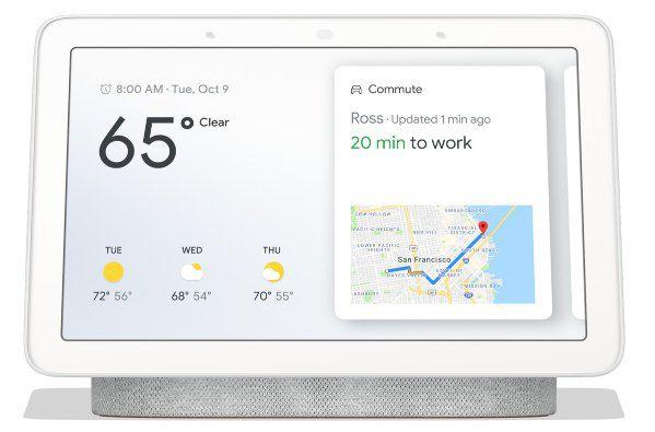 Google Nest Hub für 59,99€ (statt 78€)   B Ware