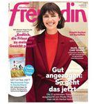 """Top! 27 Ausgaben der """"Freundin"""" für 89,10€ inkl. 80€ Amazon Gutschein"""