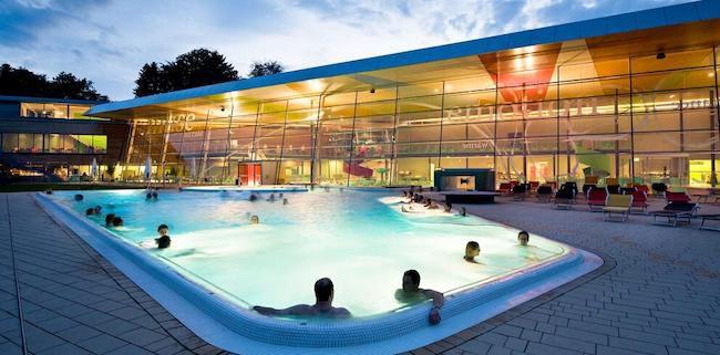 2 ÜN aquaTurm Radolfzell inkl. Frühstück mit Panoramablick + Bodensee Therme Konstanz ab 139€ p.P.