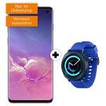 Ausverkauft! Galaxy S10 + Gear Sport Watch für 79€ (statt 734€) + Vodafone Allnet & SMS Flat mit 10GB LTE für 26,99€ mtl.