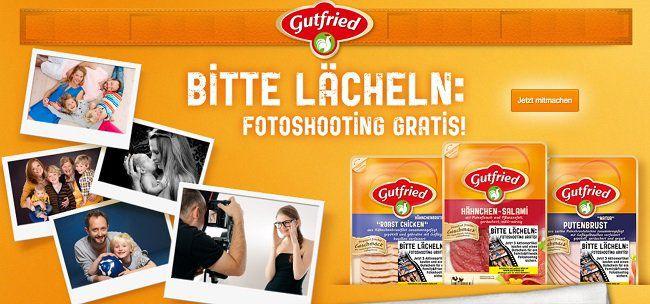 Mit Gutfried kostenloses Fotoshooting sichern