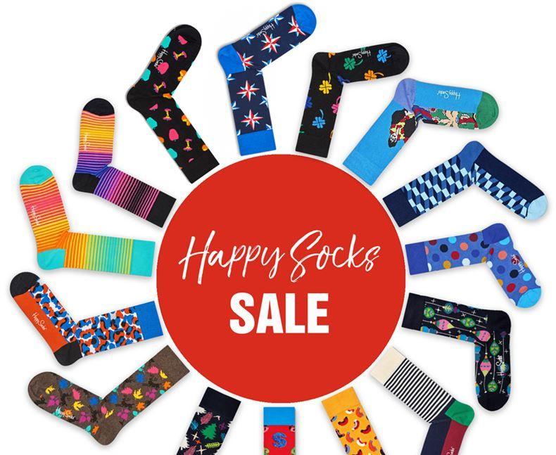 Top12: Happy Socks Sale   z.B. 6 Paar Socken ab 24,12€