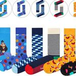 Top12: Happy Socks Sale – z.B. 6 Paar Socken ab 24,12€