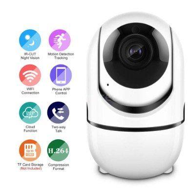 PTZ 1080P WiFi  IP Kamera G2O3 mit Bewegungsmelder & Zweiwege Audio für 17,99€   aus DE