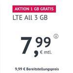 o2 Allnet + 4GB LTE für 7,99€ – monatlich kündbar ohne Aufpreis