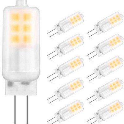 GLIME G4 LED Birnen mit 3W für 250LM im 10er Pack für 7,19€ (statt 12€)