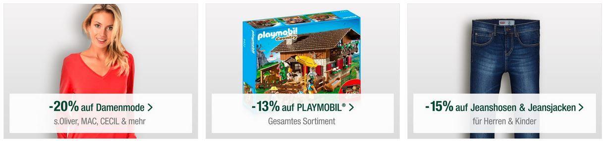 Galeria Kaufhof Sonntag: Mega Sale mit vielen Rabatten!