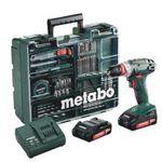 Metabo Akku-Bohrschrauber BS18 Quick Set 18V mit 2 Akkus und Ladegerät für 127,80€ (statt 145€)