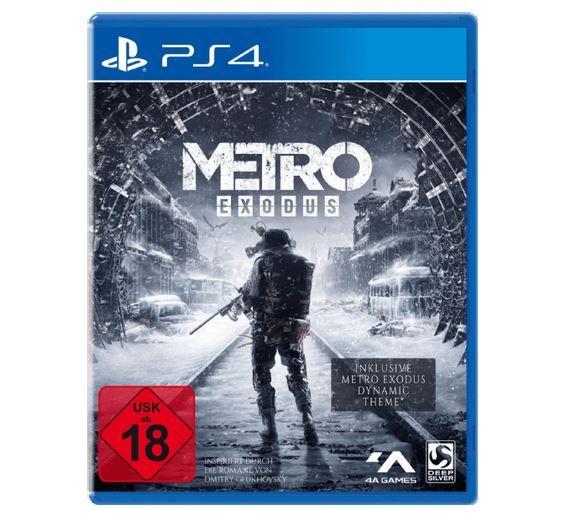 Media Markt Dienstag Sale: Metro Exodus   Day One Edition [PlayStation 4] für 29€ (statt 38€)