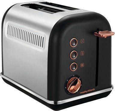 Morphy Richards Accents Toaster in Rosegold für 35€ (statt 47€)