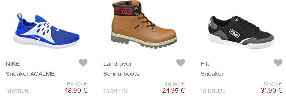 Singles Day: Deichmann Sale + 22% Extra Rabatt + keine Versandkosten