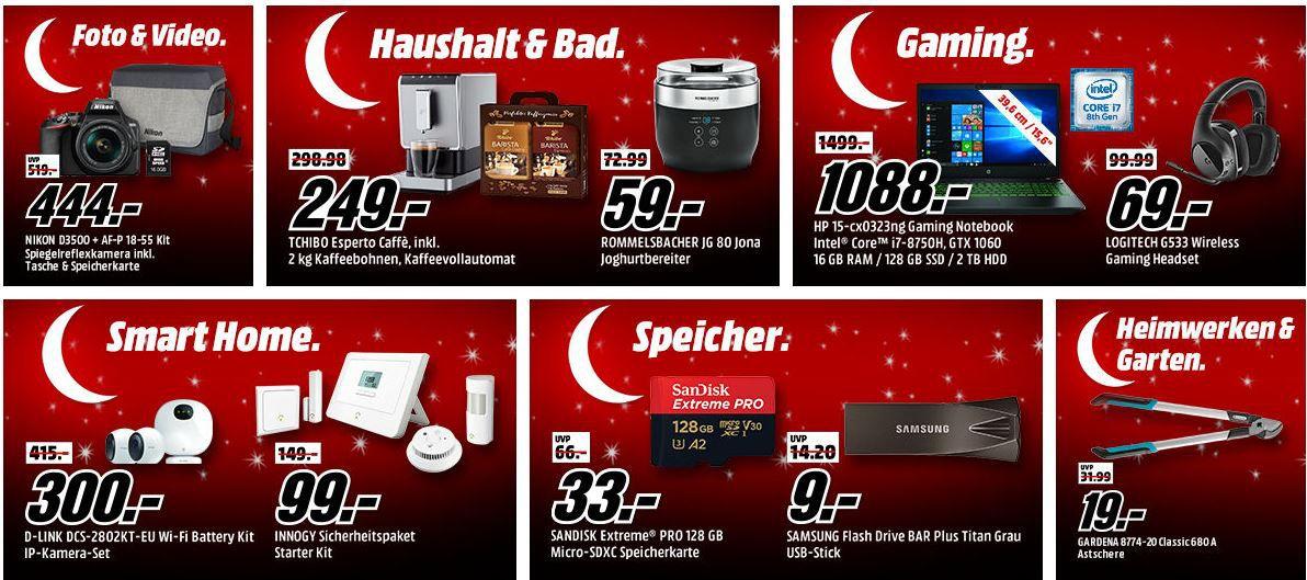 🔥 Media Markt: Mega Tiefpreisspätschicht mit sehr vielen guten Angeboten zu Top Preisen!