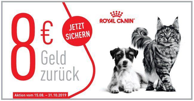 Kostenlos: Royal Canin Hunde oder Katzenfutter