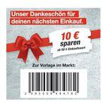 Toom Baumarkt: Jetzt ab 50€ Warenwert 10€ Rabatt-Gutschein  – nur im Markt