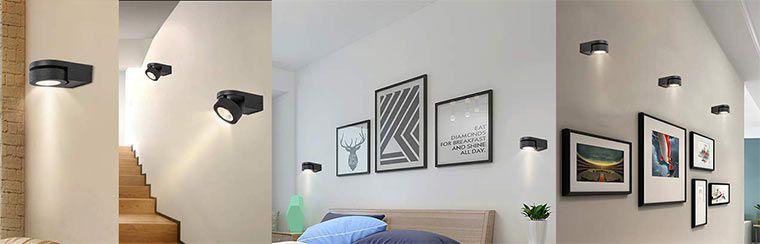 Dreh  & schwenkbar LED Wandstrahler für 19,99€ (statt 97€)