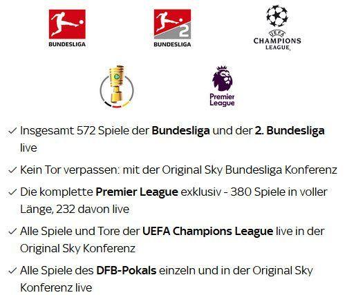 FC Schalke 04 : Borussia Dortmund: 1 Monat Sky Supersport Ticket für 9,99€