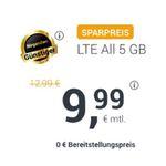 o2 Allnet-Flat von winSIM mit 5GB LTE für 9,99€ (statt 13€)
