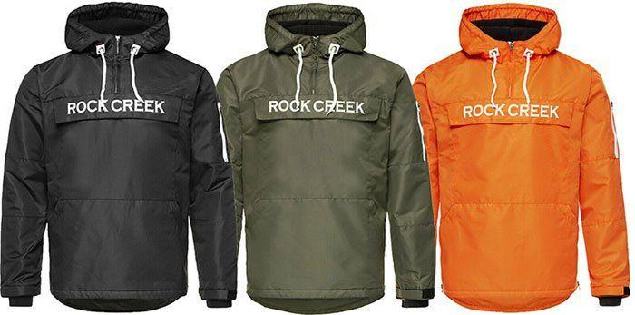 Rock Creek Herren Übergangsjacke H 167 in vielen Farben bis XXXXL für 28,90€ (statt 40€)