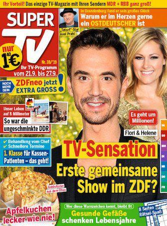 52 Ausgaben Super TV für 72,80€ + 60€ Verrechnungsscheck