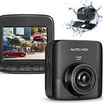 AUTO-VOX D5PRO 1520P Dual Dashcam mit 2,4 Zoll Display & mehr für 60,89€ (statt 87€)