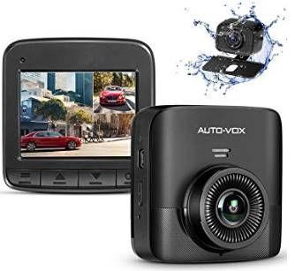 AUTO VOX D5PRO 1520P Dual Dashcam mit 2,4 Zoll Display & mehr für 60,89€ (statt 87€)